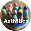 coloured pencils, self esteem activities, www.doorway-to-self-esteem.com