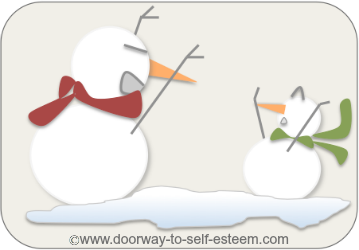 bad snowman scare tactics, forms of