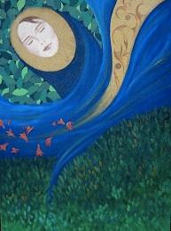 doorway to self esteem, May Bleeker, dreaming but not sleeping