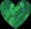 green painted heart, www.doorway-to-self-esteem.com