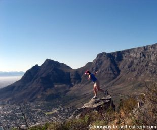 top of Lions Head, Cape Town